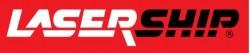 LaserShip Logo Red background 13